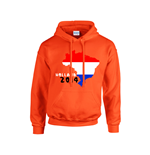 Holland 2014 Country Flag Hoody (orange) - Kids
