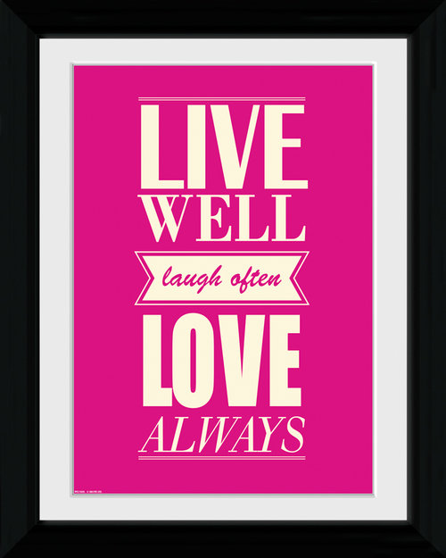 Live Love Collector Print
