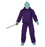 Friday the 13th Retro Action Figure Jason Classic Video Game Appearance 20 cm