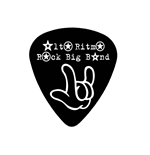 "Fender ""Heavy"" Guitar Pick - Alto Ritmo Rock Big Band"