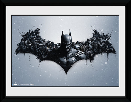 Batman Comic Origins Framed Collector Print