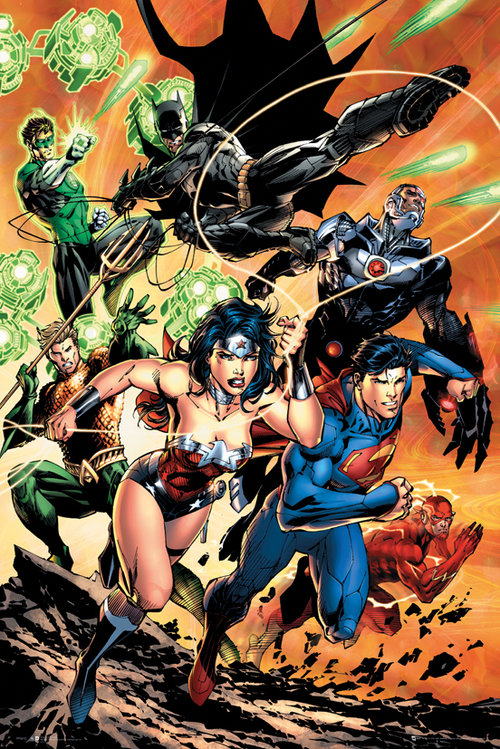 DC Comics Justice League Charge Maxi Poster