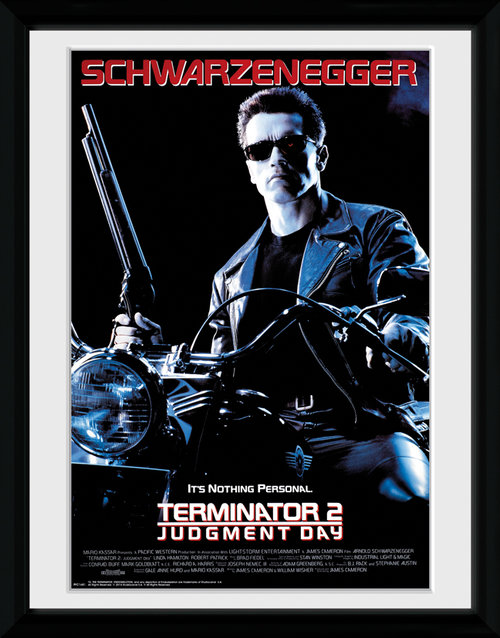 Terminator 2 One Sheet Framed Collector Print