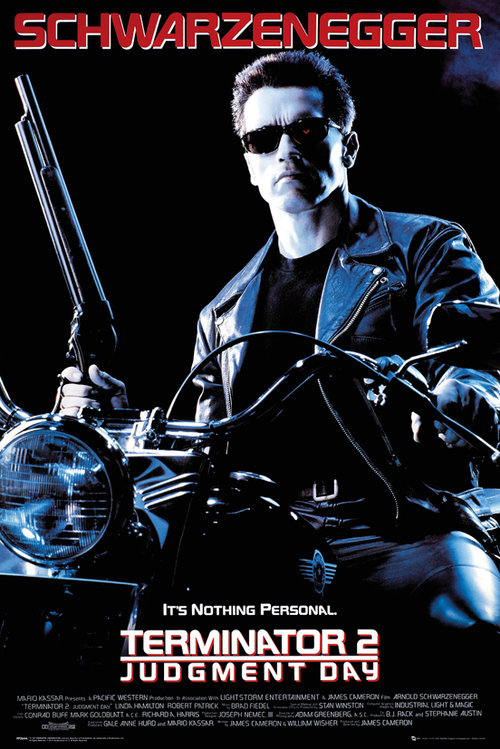 Terminator 2 One Sheet Maxi Poster
