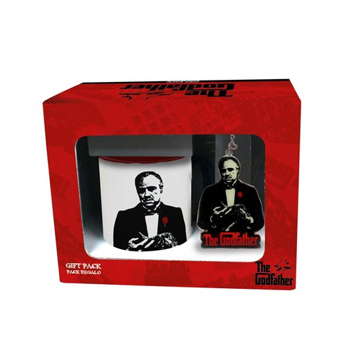 The Godfather Gift Set Mug & Keyring Don Vito Corleone