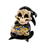 Halloween Candy Bowl Holder Grim Reaper 50 cm
