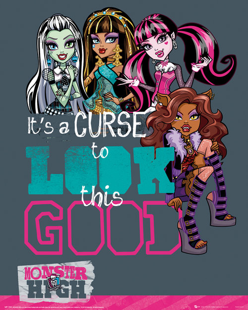 Monster High Look This Good Mini Poster