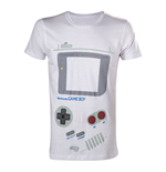 NINTENDO Original Classic Gameboy Interface Small T-Shirt, White