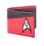 STAR TREK Into Darkness Engineering Logo Bi-fold Wallet, Red/Dark Grey