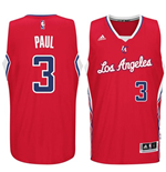 Mens Los Angeles Clippers Chris Paul adidas Red New Swingman Road Jersey