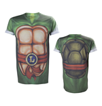 TEENAGE MUTANT NINJA TURTLES (TMNT) Leonardo Body All-Over Sublimation Extra Large T-Shirt