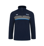 England RWC 2015 Lineout Quarter Zip Fleece (Navy)