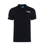 England RWC 2015 No 8 Plain Polo Shirt (Black)