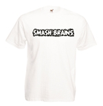 Transfer Printed T-shirt - Smash Brains