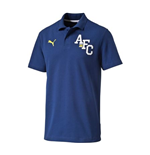 2014-2015 Arsenal Puma Fan Polo Shirt (Blue)