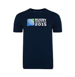 RWC 2015 Rugby T-shirt (Navy)