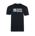 RWC 2015 Rugby T-shirt (Black)