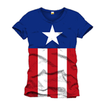 Captain America T-Shirt Costume
