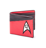 Star Trek Wallet Bifold Engineering Logo Red