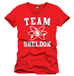 The Big Bang Theory T-Shirt Team Sheldon red