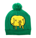 ADVENTURE TIME Tree Trunks Bobble Beanie, Green