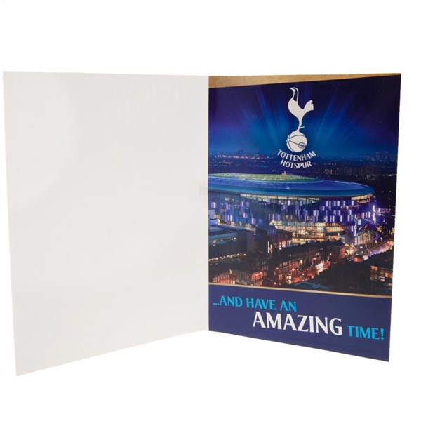 Tottenham Hotspur F.C. Musical Birthday Card
