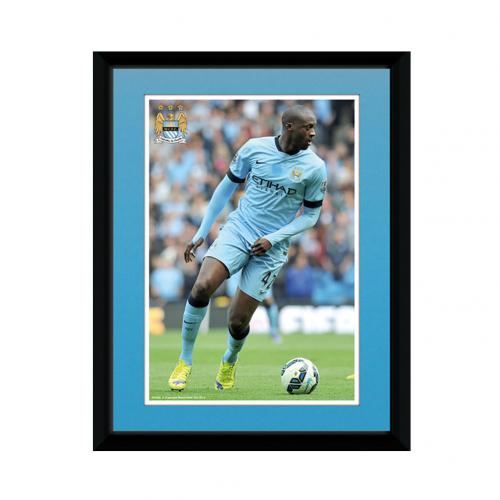 Manchester City F.C. Picture Toure 8 x 6