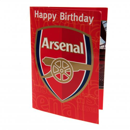 Arsenal F.C. Musical Birthday Card