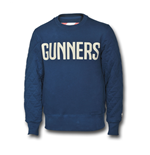2014-2015 Arsenal Puma Casual Crew Sweater (Blue)