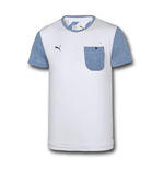 2014-2015 Arsenal Puma Pocket Tee (White)