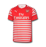 2014-2015 Arsenal Puma Pre-Match Top (Red-White)