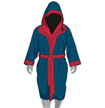 Spider-Man Fleece Bathrobe Retro