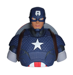 Marvel Comics Coin Bank Captain America 22 cm