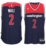Mens Washington Wizards John Wall adidas Navy Blue New Swingman Alternate Jersey