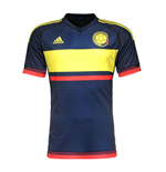 2015-2016 Colombia Away Adidas Football Shirt