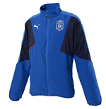 2015-2016 Italy Puma Stadium Leisure Jacket (Blue) - Kids