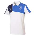 2015-2016 Italy Puma Stadium Polo Shirt (White)