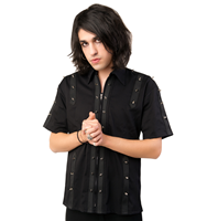 Aderlass Prick Shirt Denim