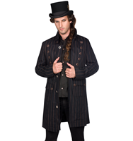Aderlass Steampunk Coat Pin Stripe