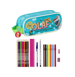 Frozen 23-Piece Double Pencil Case Olaf 21 cm