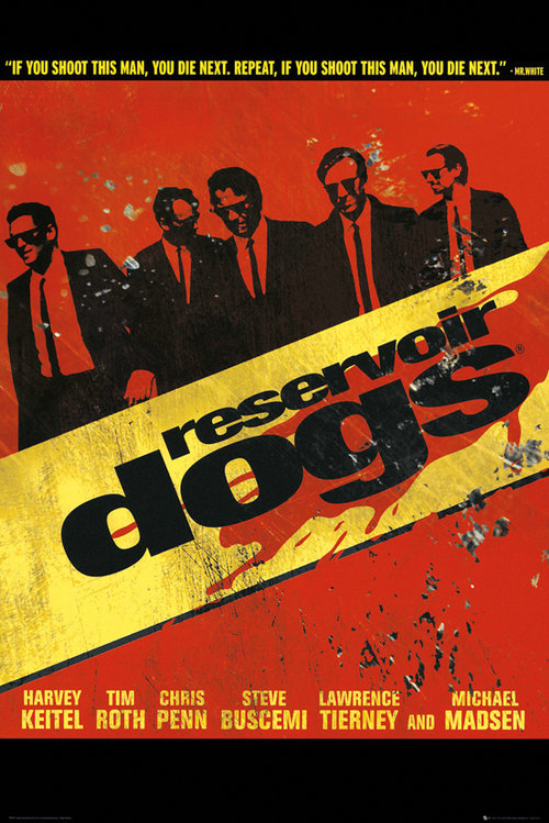 Reservoir Dogs Walk Maxi Poster