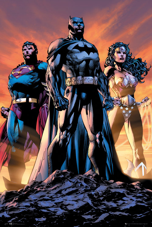 DC Comics Justice League Trio Maxi Poster