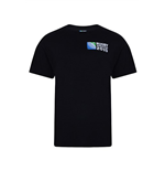 RWC 2015 Rugby 20 Nations Globe Tee (Black)