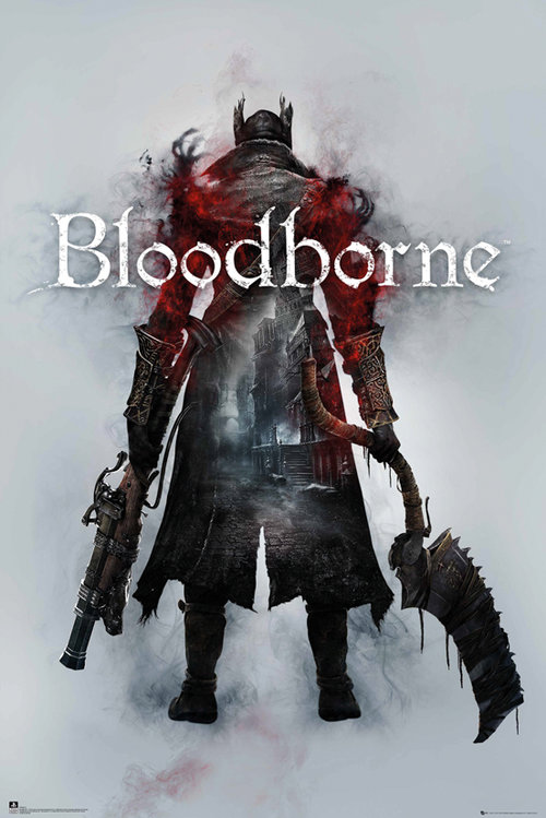 Bloodborne Key Art Maxi Poster