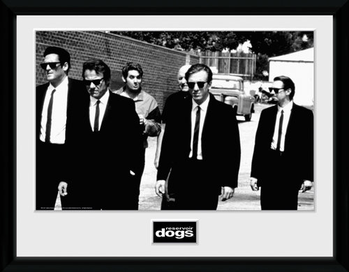 Reservoir Dogs Lets Go Framed Collector Print