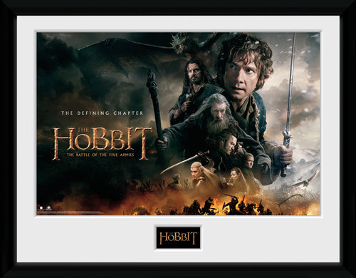 The Hobbit  Framed Collector Print