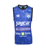 2015 Bulldogs Rugby Training Singlet (Blue)