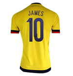 2015-2016 Colombia Adidas Home Shirt (James 10)