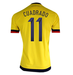 2015-2016 Colombia Adidas Home Shirt (Cuadrado 11)