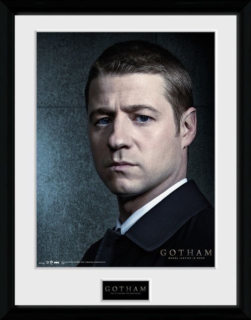 Gotham James Gordon Framed Collector Print